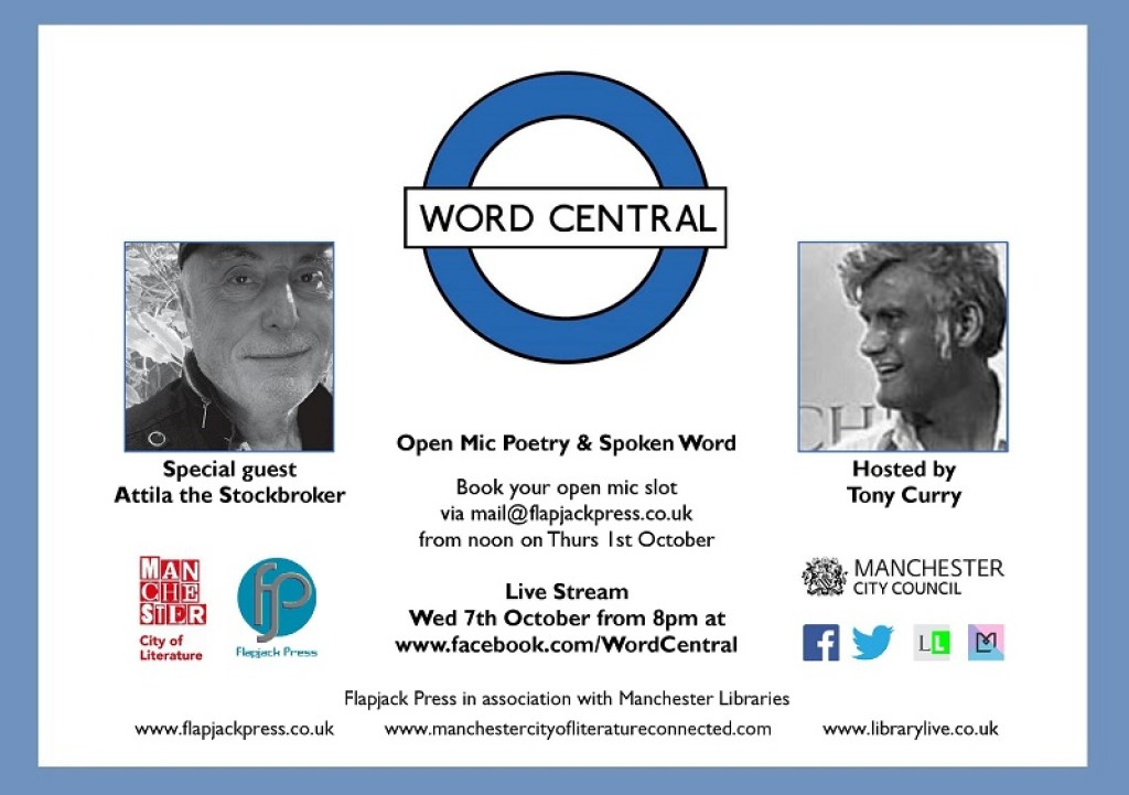 Word Central October 7th - celebrate National Libraries Week