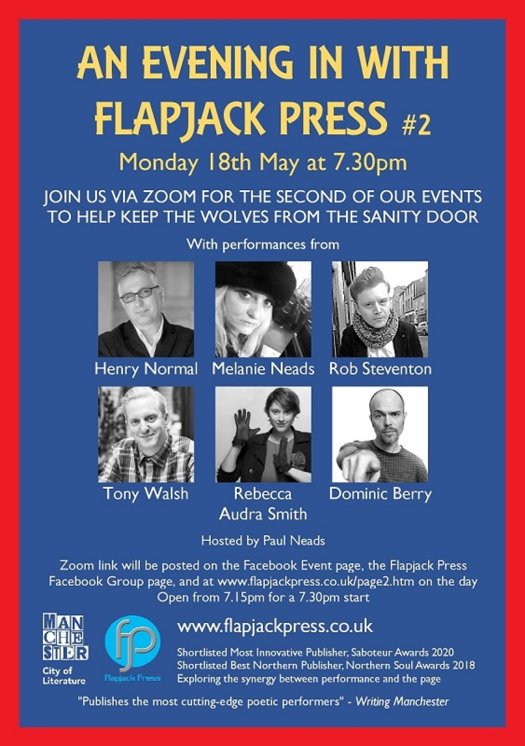 An Evening In with Flapjack Press #2