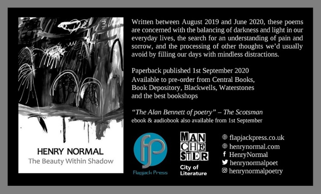 Coming soon: The Beauty Within Shadow by Henry Normal