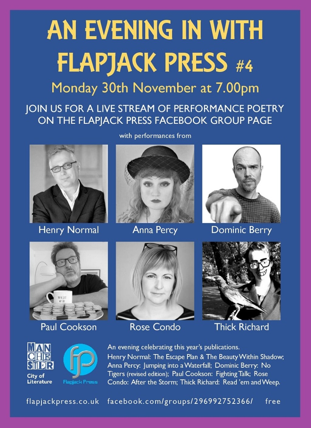 An Evening In With Flapjack Press #4