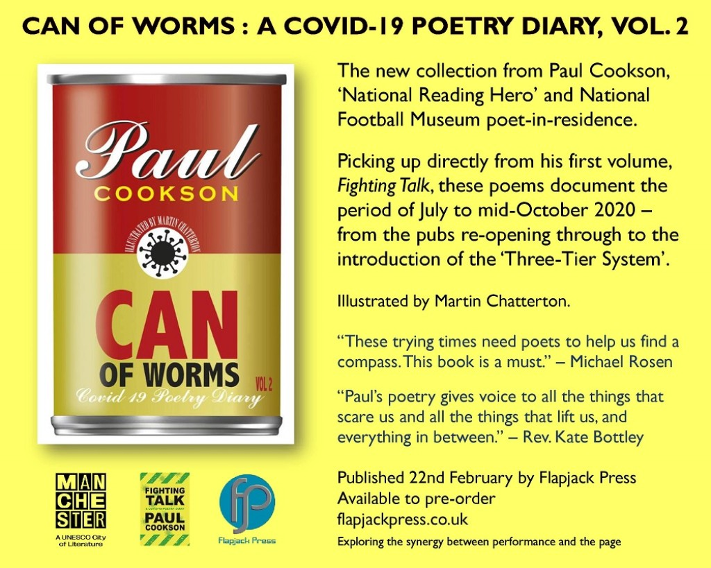 Can of Worms by Paul Cookson - available to pre-order