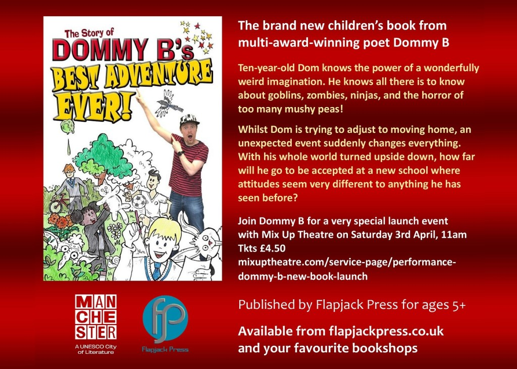 Book Launch: Best Adventure Ever! by Dommy B, 3rd April