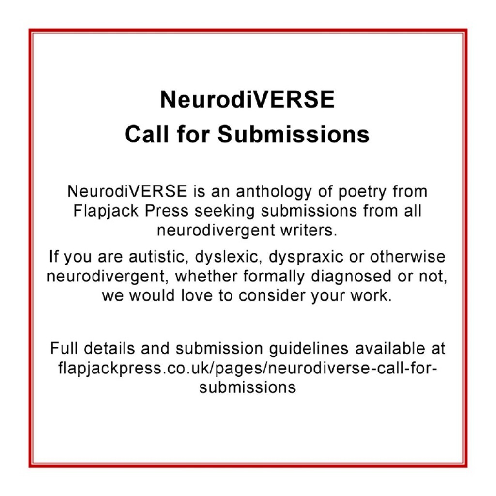 NeurodiVERSE – Call for Submissions