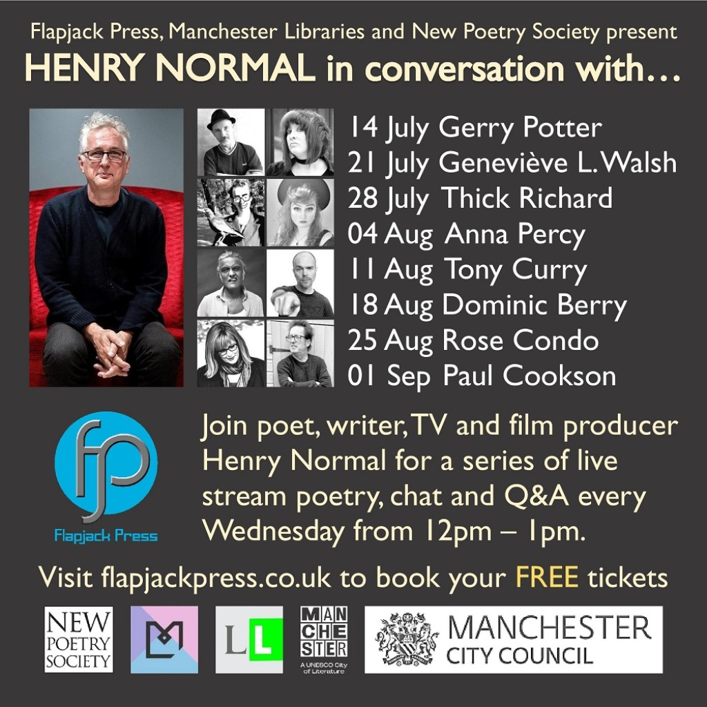 Henry Normal in conversation with…