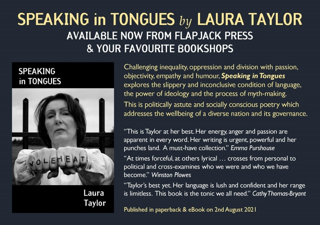 OUT NOW: Speaking in Tongues by Laura Taylor